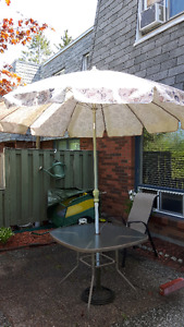 """patio umbrella - 92"""" diam"""