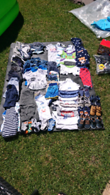 Baby boy clothes 0 to 12 months all like new