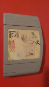 The legend of zelda for the Nintendo 64