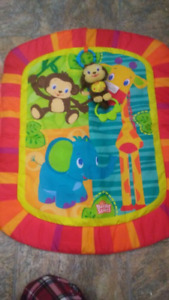 New Tummy Time Play Mat with Monkey