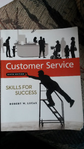 Customer service 6 th edition by Robert W. Lucas. Good condition
