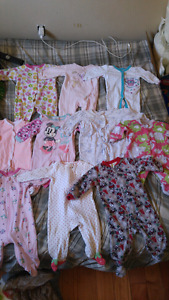 Baby gril clothes and baby food