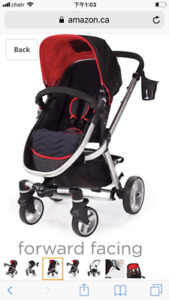 FUZE stroller  in good condition