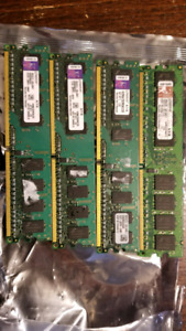 4x 1Gb DDR2 RAM memory for PC