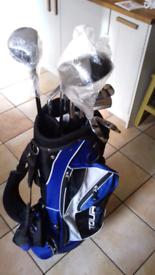 Dunlop Golf Bag & 65i Full Clubs Set RH