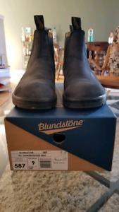 US Size 10 Blundstone Leather Lined Rustic Black