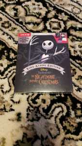 Nightmare before Christmas Disney Target exclusive blu-ray