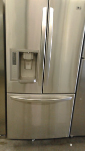 Beautiful LG French Door Style Fridge