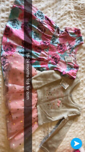 Baby/toddler clothes with tags
