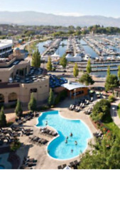 2 bed unit at The Grand in Kelowna for great July week