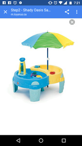 Water/sand table