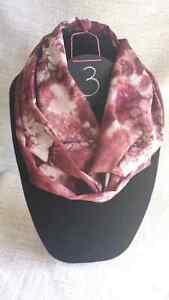 Handmade silk infinity scarves  London Ontario image 3