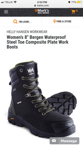 Helly Hansen Waterproof Safety boots size 8