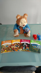 TJ Bearytales Storytelling Bear + Books, Cartridges, Accessories