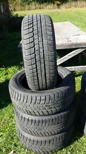 4 hercules tires 205x55x16 $250, 4 michelin snows 225x55x16 $150