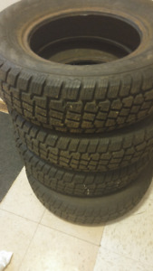Set of Hercules Avelanche X-Treme 215/70R15 Winter Tires