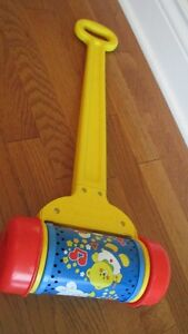 Jouet Fisher Price rouleau musical West Island Greater Montréal image 1