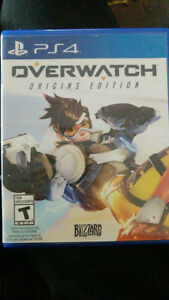 Selling Overwatch: Origins Edition PS4
