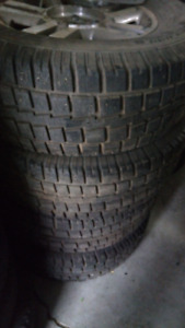 Ford F150 winter tires/RIMS. 275/70/18