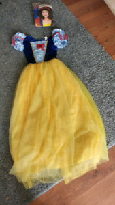 Snow White Costume and Wig