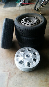 Mini Cooper Winter Tires and Rims