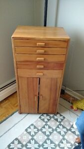 Meuble a couture / Sewing cabinet