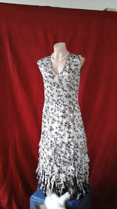 Really pretty and funky reversible dress - Soft & feminine.