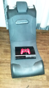 bluetooth gamming chair with ps3 1 controller