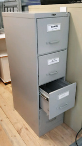 Letter Size Filing Cabinet by Global 4 Drawer Vertical
