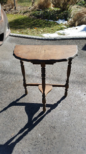 2 small tables for refinishing 20.00 ea.