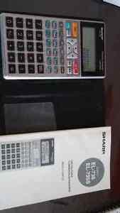 Calculatrice financière Sharp EL - 738 Gatineau Ottawa / Gatineau Area image 1