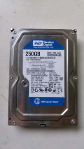 Sata Hard Drive 250gb