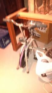 vintage exercise bike about 30+ years old