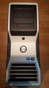 Dell workstation T7500 Dual Hexacore + 48GB RAM + SSD