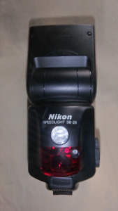 Nikon SB 28 Speedlite Flash