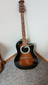 OVATION ACOUSTIC ELECTRIC  GUITAR-REDUCED