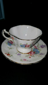 Extremely rare HAMMERSLEY teacup+saucer