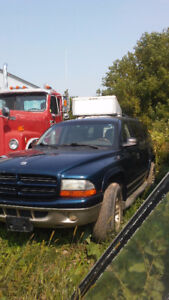 2002 Dodge Durango LEATHER FULLY LOADED 4X4 SUV, Crossover