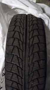 4 used winter tires West Island Greater Montréal image 1