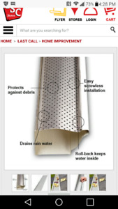 Clip n guard gutter cover