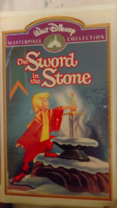 VHS Walt Disney The Sword in the Stone