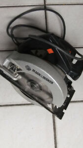 Black and Decker 7.25 inch  Circular saw