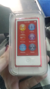 Special edition red ipod nano