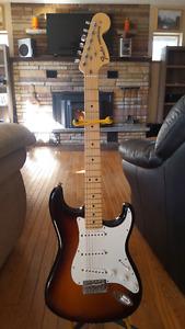 Fender Stratocaster with Excelsior Amp