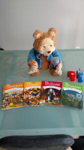 TJ Bearytales Storytelling Bear + Books, Cartridges, Accessories