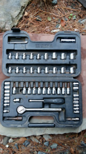 Socket Set (cms. and inches) with carrying case by Mastercraft