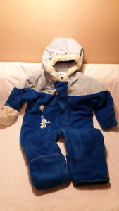 Columbia Royal Blue 1pc Pram Suit,12mts, Excellent Condition,OBO