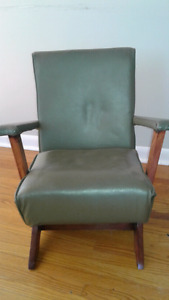 Vintage Child's Rocking Chair - Adorable and Stylish
