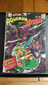 COMIC BOOKS- The Brave & the Bold/ Aquaman and the Atom #73