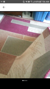 Like new huge area rug perfect condition 5'x7'